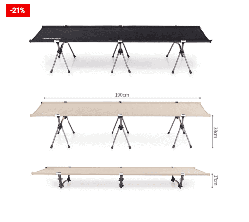 Camping Cot Sturdy Folding Bed