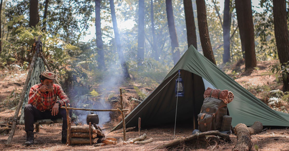 hot tents for winter camping