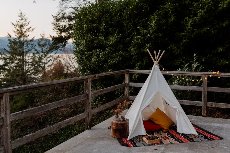 a camping tent
